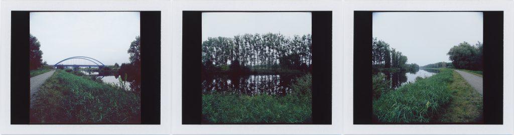 Falkenrehde-Havelkanal 2014. Instant Color FujiFilm