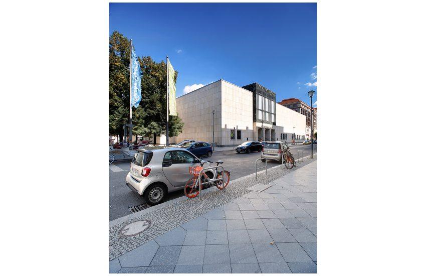 Komischen Oper, Zustand vor der Sanierung. Berlin 2019