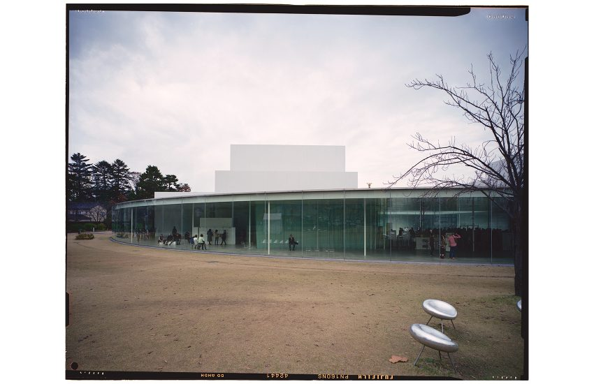 Architektonisches Konzept. SANAA, 21st Century Museum of Contemporary Art, Kanazawa, Japan 2016