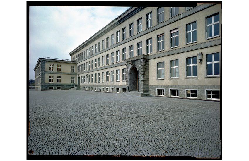 Gesamterneuerung des Hauptgebäudes der Kantonsschule Im Lee in Winterthur. Istzustand Januar 2018
