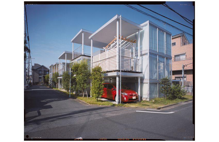 Architektonisches Konzept. SANAA, Shakujii Apartments, Kamishakujii, Tokyo, Japan 2016